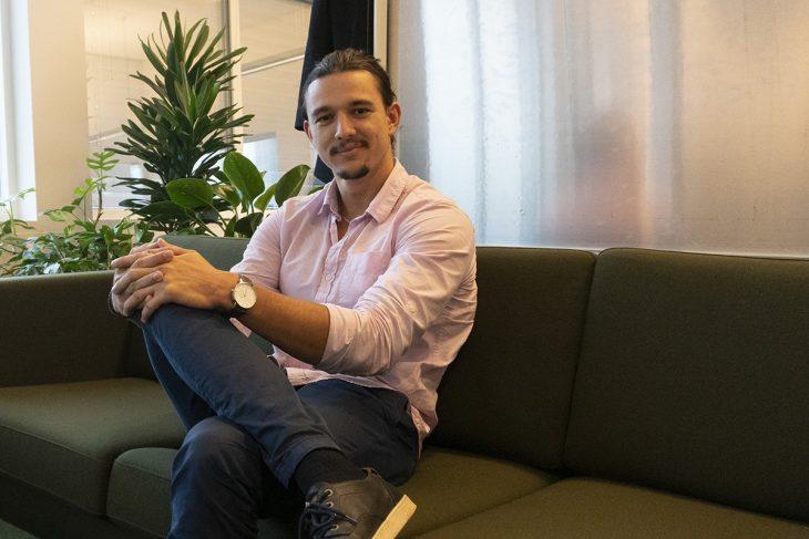 Elliott Linder, Crunchfish Back-end developer